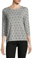 Karen Scott Petite Dot Dream Cardigan