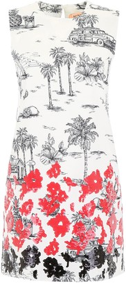N°21 N21 Printed Mini Dress