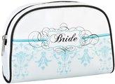 Lillian Rose Bride Travel Bag, 7.25-Inch by 4.75-Inch, Aqua