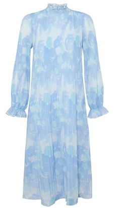Ganni Long printed dress