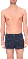 Lacoste Branded pack of three stretch-cotton trunks