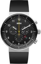 Braun Brown Unisex Watch Analogue Rubber Quartz 66548 BN0095BKSLBKG