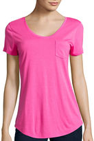 STYLUS Stylus Relaxed Fit Scoop Neck T-Shirt