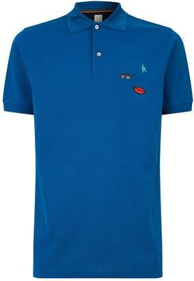 Paul Smith Musical Embroidered Polo Shirt