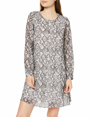 New Look Women's TBC Print Chiffon Tunic Dress