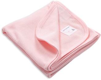 Burt's Bees Solid Thermal Organic Baby Receiving Blanket