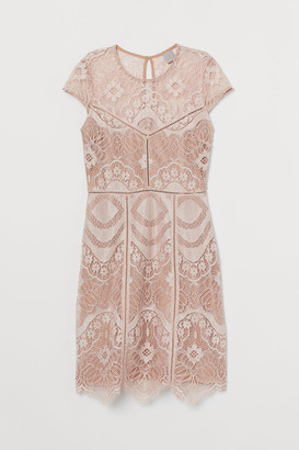 H&M Lace Dress - Orange