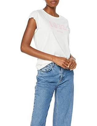 Mustang Women's Flockprint Tee T-Shirt,Large