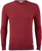 Versace Collection Girocollo Jumper Rosso