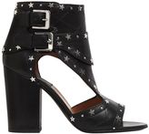 Laurence Dacade 95mm Rush Stars Cutout Leather Boots