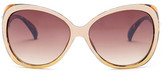 Steve Madden Women&s Modified Oval Sunglasses