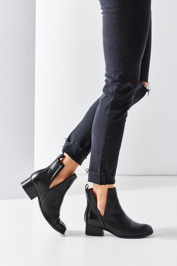 Jeffrey Campbell Oriley Cutout Ankle Boot $195.00 | Cutout