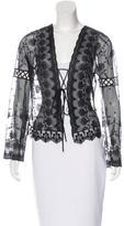 Blumarine Embellished Lace Jacket