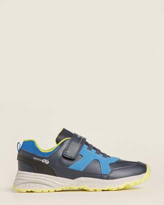 Geox Kids Boys) Navy & Royal Bernie Running Sneakers