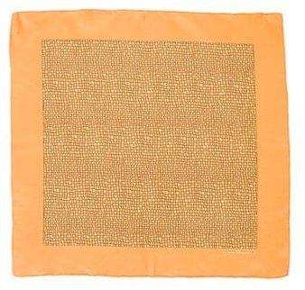 Hermes Geometric Print Pocket Square