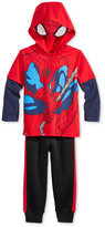 Nannette Little Boys' 2-Pc. Spider-Man Graphic-Print Hoodie & Pants Set