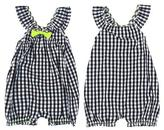 Amy Coe Girls' Checkered Romper