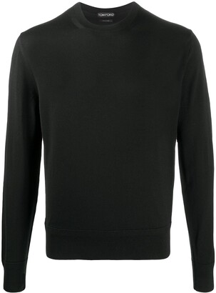 Tom Ford Black Wool Sweatshirt