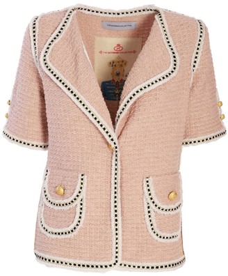 The Extreme Collection Classic Short Sleeve Pink Jacket Blanca