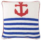 Thomas Paul Anchor Crewel Pillow