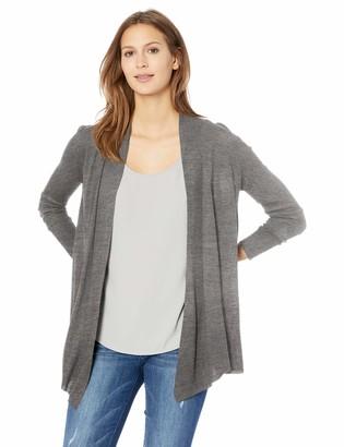 Jason Maxwell Women's Long Sleeve Flyaway Cardigan Sweater