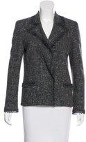 Valentino Embellished Wool & Angora Blazer