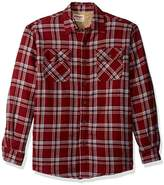 Wrangler Men's Authentics Big and Tall Long Sleeve Shirt