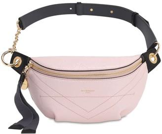 Givenchy Id Crackle Leather Belt Bag