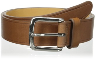 Cole Haan Men's 32mm Burnished Edge Milled Egyptian Cow Belt