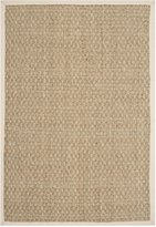 Safavieh Natural Fiber Collection NF114J Natural and Ivory Seagrass Area Rug, (2-Feet 6-Inch X 4-Feet)