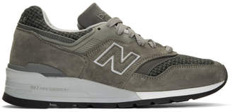 New Balance Grey US Made 997 Sneakers