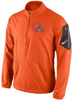 Nike Men's Cleveland Browns Lockdown Half-Zip Jacket