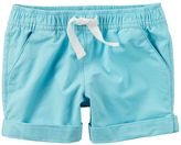 Carter's Girls 4-8 Cuffed Shorts