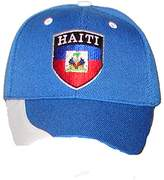 PAM GM Little Boys Haiti Soccer Caps For Toddlers 2 - 7 Years