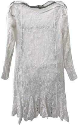 Isabel Marant White Lace Dresses