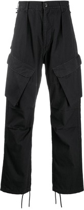 Neighborhood front flap pocket cargo trousers