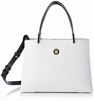 Tommy Hilfiger Womens Th Core Med Satchel Satchel Multicolour (Micro Chip)