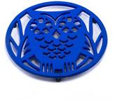 ODI HOUSEWARES Dazzling Blue Wise Owl Trivet