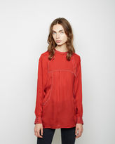 Isabel Marant Maly Georgette Top