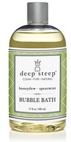 Deep Steep Organic Bubble Bath Honeydew Spearmint -- 17.5 fl oz