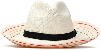 Sensi Grosgrain-trimmed Toquilla Straw Panama Hat