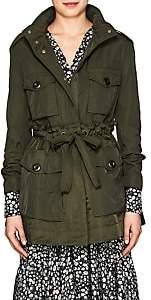 Moncler Women's Twill & Satin Jacket - Green