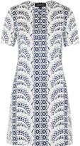 Vanessa Seward Belvedere cotton-blend jacquard dress