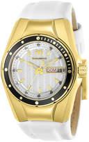 Technomarine White & Goldtone Silicone Cruise Bracelet Watch