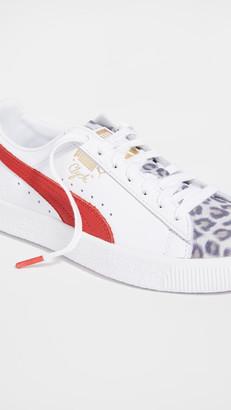Puma Clyde Leopard Sneakers