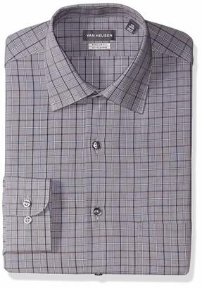 Van Heusen Men's Dress Shirt Regular Fit Check