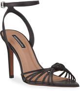 BCBGMAXAZRIA Delia Knotted Strappy Sandals