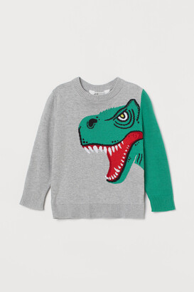 H&M Intarsia-design Sweater