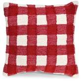 Liora Manné Frontporch Gingham Indoor and Outdoor Square Pillow