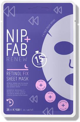 Nip + Fab Nip+Fab Retinol Fix Sheet Mask 25Ml